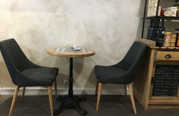 Salon de thé Aix-en-Provence table