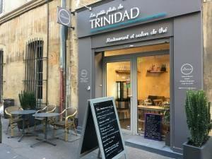 Salon de thé Aix-en-Provence façade