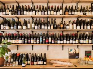 wine bar in Aix-en-Provence (bottles)