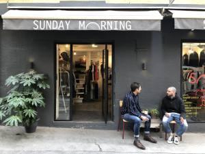 Mode Hommes et Femmes à Aix-en-Provence chez Sunday Morning facade