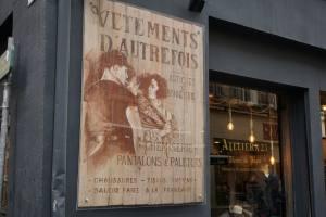 Atelier 23 mode hommes à Aix en Provence devanture