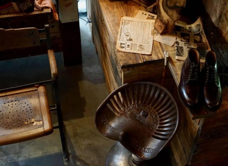 Atelier 23 mode hommes à Aix en Provence intérieur