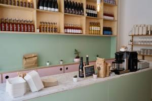 Restauration rapide à Aix-en-Provence Marché Pancakes comptoir