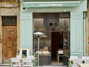 Restauration rapide à Aix-en-Provence Marché Pancakes devanture