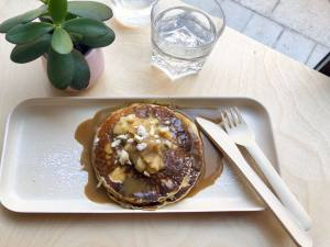 Restauration rapide à Aix-en-Provence Marché Pancakes sucrés