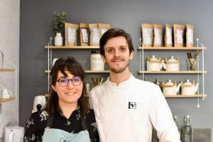 Instant V pâtisserie végétale à Aix en Provence fondateurs