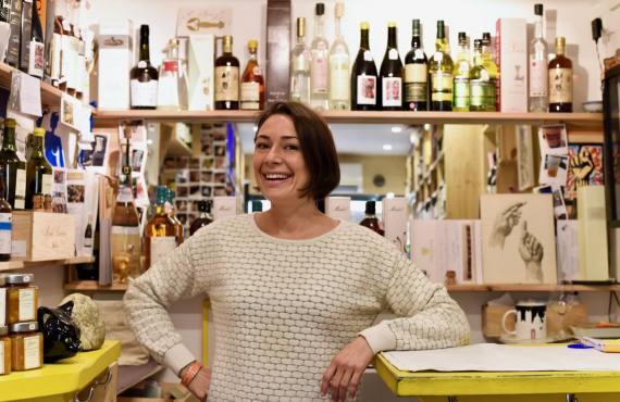 Mademoiselle Wine cave à à vins à Aix en Provence Aurelie Gauthier