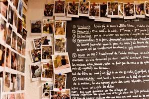 Mademoiselle Wine cave à à vins à Aix en Provence tableau