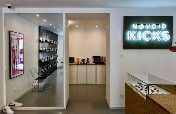Novoid Kicks boutique de sneakers et culture street à Aix-en-Provence intérieur