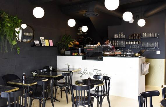cafe du temps café et restaurant végétarien aix en provence comptoir