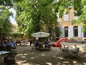 Hôtel de Gallifet, art centre - Aix-en-Provence (exterior)