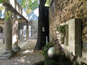 Hôtel de Gallifet, art centre - Aix-en-Provence (fountain)
