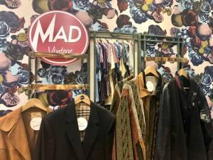 Mad Vintage, friperie à Aix-en-Provence (manteaux)