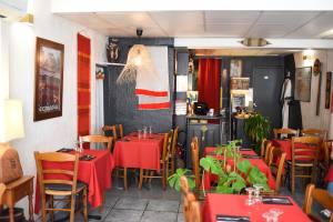 Chez Ama Ethiopian restaurant - Aix en Provence - interior