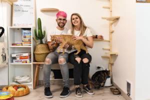 Meow cats café bar à chats à Aix en Provence Morgane et Alex