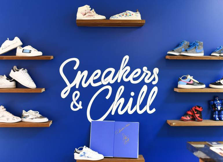 sneakers and chill pressing baskets Aix en Provence logo