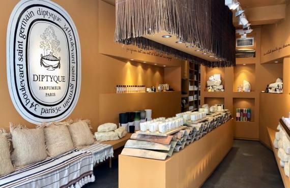 Diptyque, nouvelle parfumerie à Aix-en-Provence (Interieur)