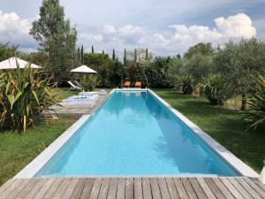 Maison Jalon, chambres d'hôtes in Aix-en-Provence (pool)