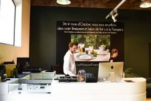 la maison francaise epicerie fine et restaurant salon de thé aix en provence l'équipe