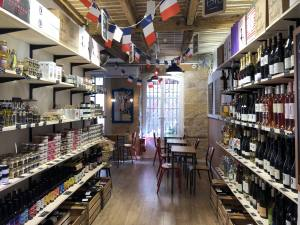 L'Aperitif français, deli and wine store in Aix-en-Provence (interior)