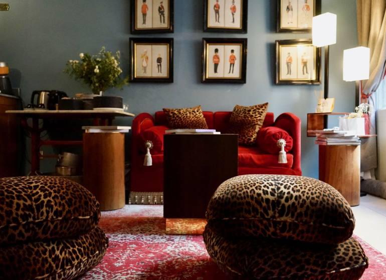 La maison du collectionneur, chambres d'hôtes à Aix-en-Provence (lobby)