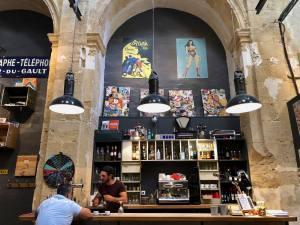 les fils a maman, restaurant, Aix-en-Provence (deco)