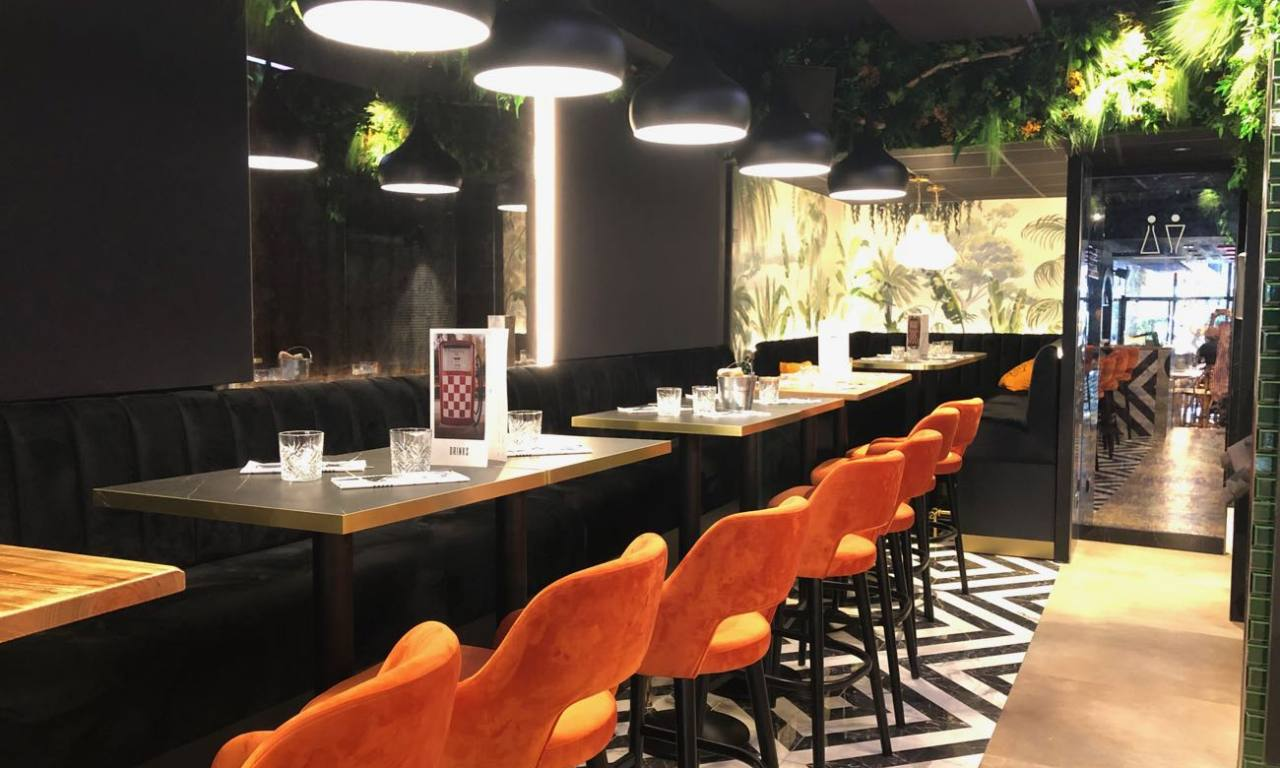 love spots - Brasserie Faubourg 46 - aix-en-provence - tables