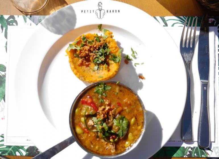 Le Petit Baron, restaurant et bar à visn et tapas à Aix en Provence (cuisine du marché)