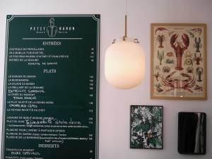 Le Petit Baron, restaurant and wine bar and tapas in Aix en Provence (interior)