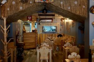 Sielanka, Polish restaurant in Aix-en-Provence (wooden interior)