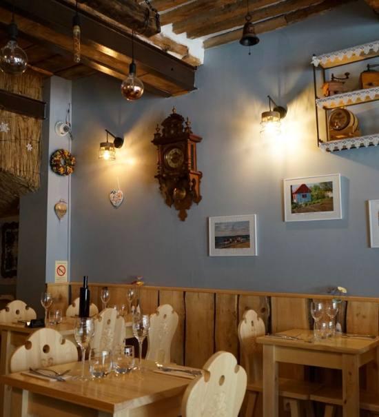 Sielanka, restaurant et traiteur polonais à Aix-en-Provence (salle)