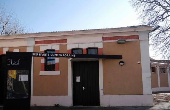 3bisF, centre d'art contemporain à Aix-en-Provence (entrée)
