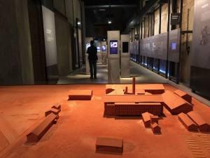 Camp des Milles, mémorial de l'internement et de la déportation à Aix-en-Provence (maquette)
