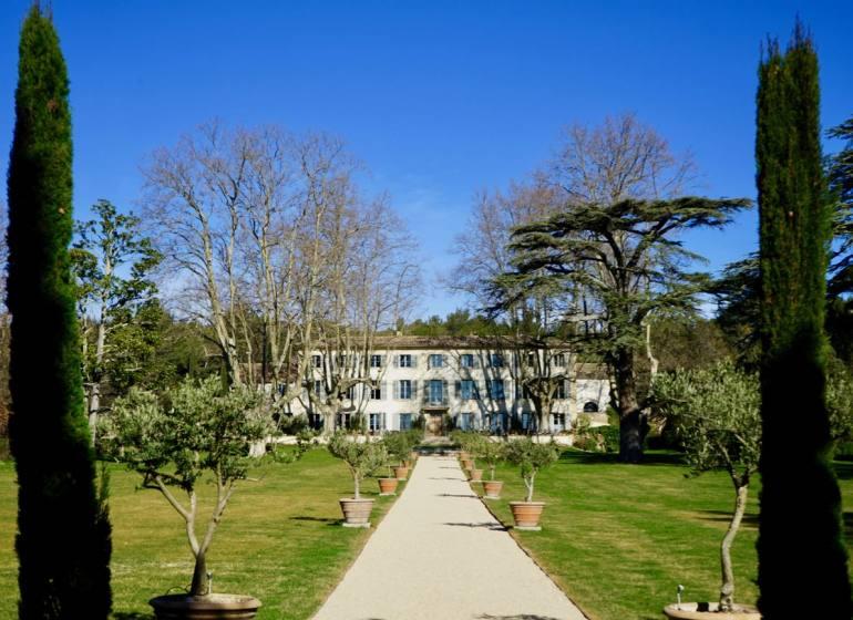 Domaine de Fontenille: Hotel, restaurant et vignoble à Lauris dans le Lubéron (parc)