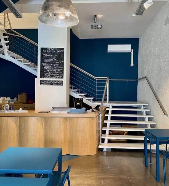 La Crème, atelier de pâtisserie à Aix-en-Provence (interieur)