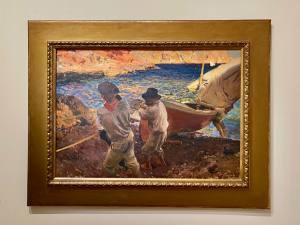 Lumières espagnoles, exposition peintures Sorolla à l'Hôtel de Caumont à Aix-en-Provence (pêcheurs)