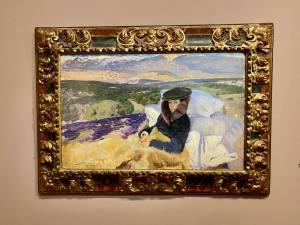 Lumières espagnoles, exposition peintures Sorolla à l'Hôtel de Caumont à Aix-en-Provence (convalescence)