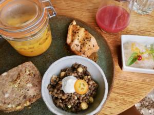 Gaodina, hotel and restaurant in Aix en Provence (dishes)