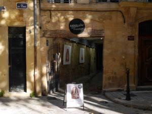 Galerie Parallax, expo photo à Aix-en-Provence (devanture)