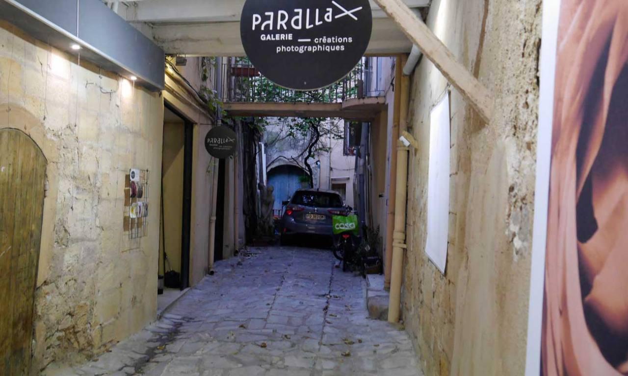 Galerie Parallax, expo photo à Aix-en-Provence (impasse pour y accéder)