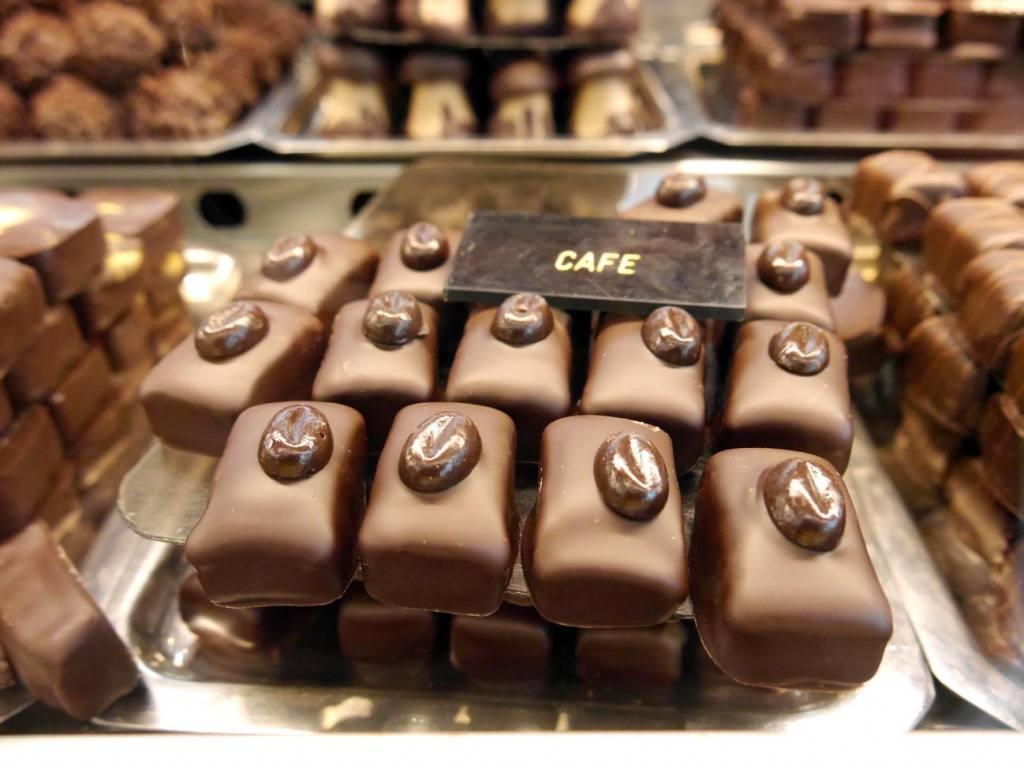 Maison Béchard, pâtisserie à Aix-en-Provence: chocolats