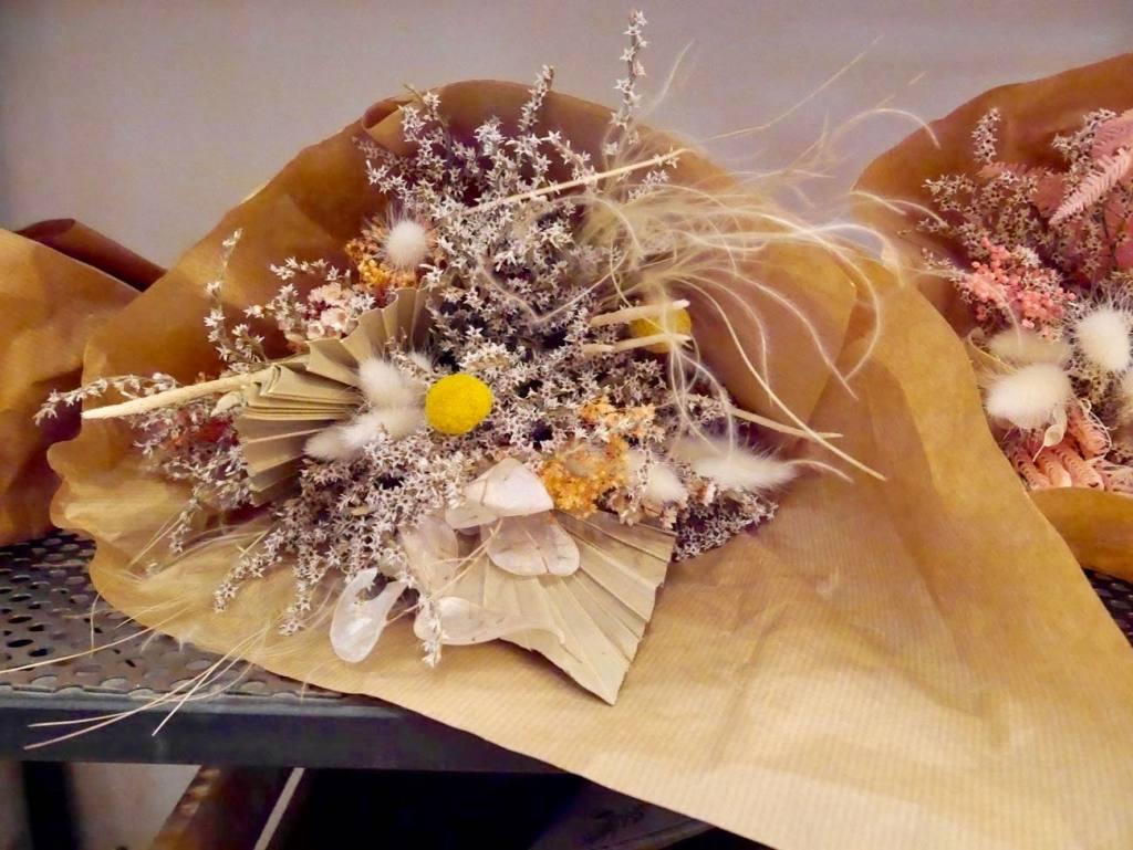 La Fabrique Aixoise, boutique de créateurs à Aix (fleurs séchées)
