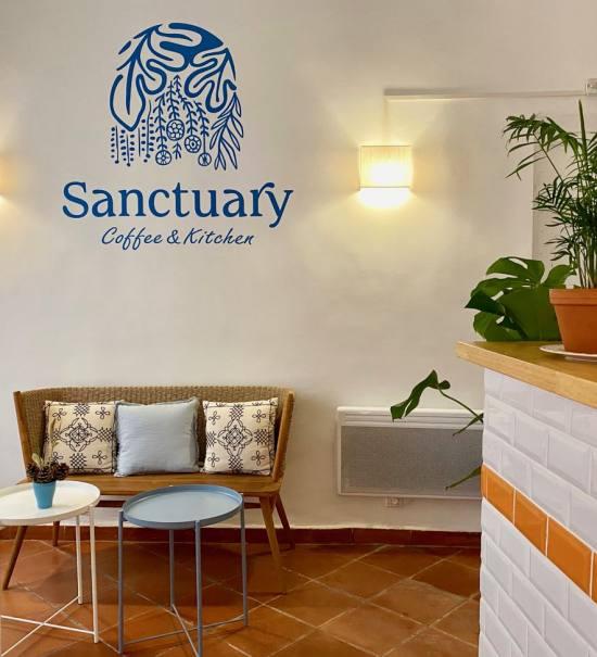 Sanctuary Kitchen, Coffee shop et cantine végétale à Aix (alcove) à aix