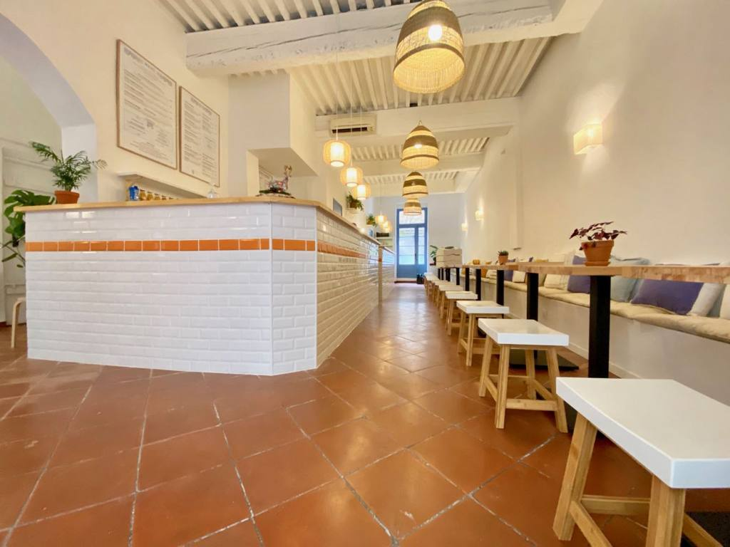 Sanctuary Kitchen, Coffee shop and cantine in Aix (interior)
