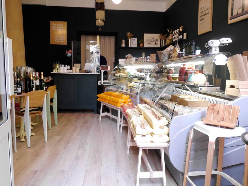 Au pâtes fraiches, fresh pasta in Aix-en-Provence (boutique)