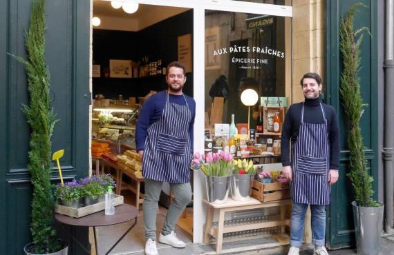 Au pâtes fraiches, pâtes fraiches à Aix-en-Provence (Charles et Pierre-Antoine)