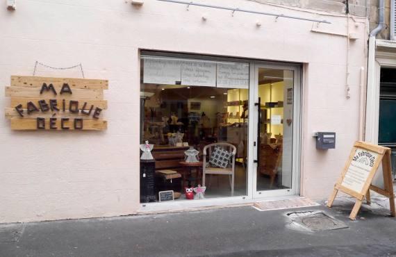 Ma fabrique déco, meubles à Aix-en-Provence (devanture)