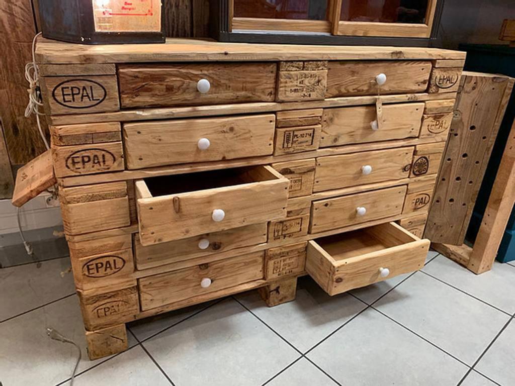 Ma fabrique déco, meubles à Aix-en-Provence (meuble en palettes)