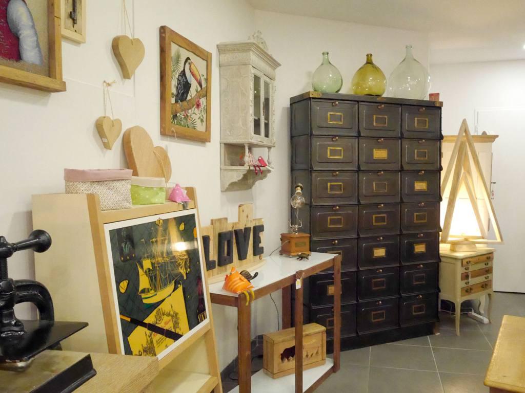 Ma fabrique déco, meubles à Aix-en-Provence (boutique vue d'ensemble)
