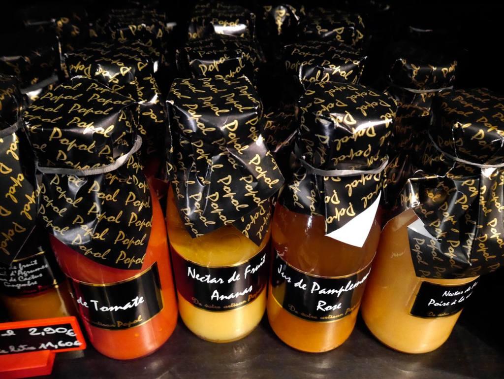Popol, grocery in Aix-en-Provence (jars)